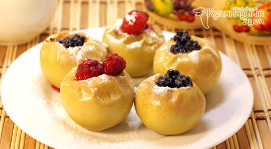 Яблоки с медом приготовление