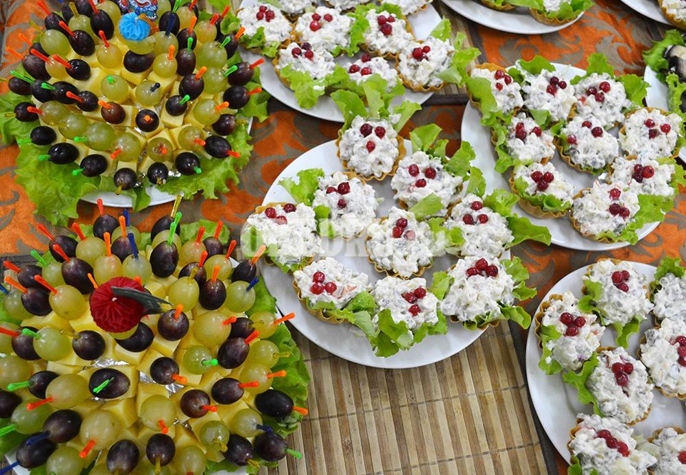Салаты на день рождения в тарталетках рецепты