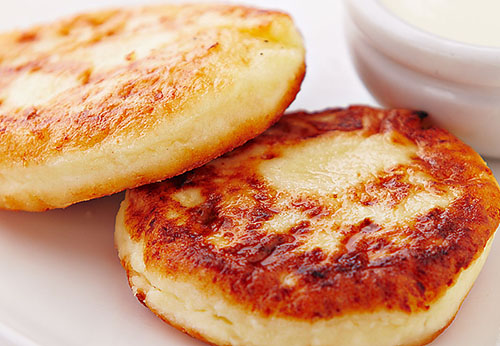 Сырники на полдник или завтрак детский