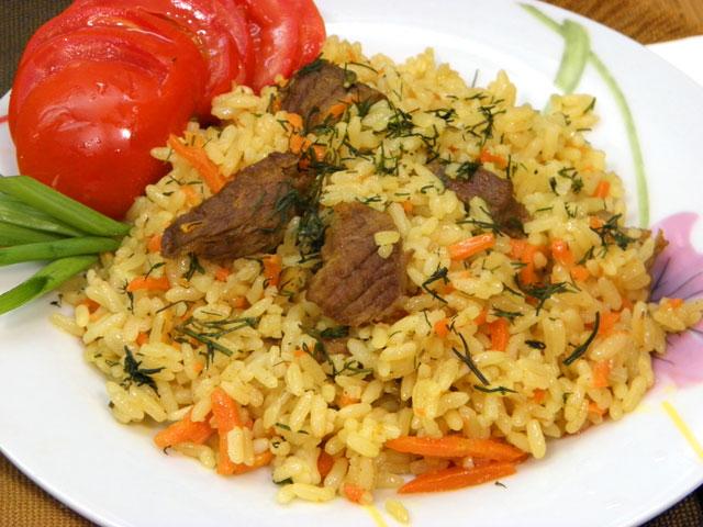 Плов из говядины рецепт приготовления с фото