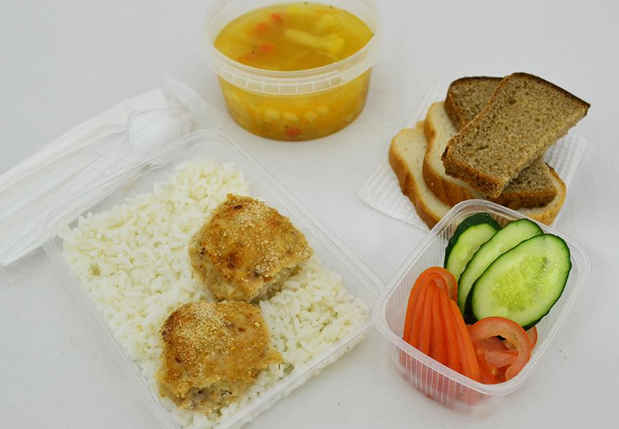 Обед для пенсионеров