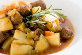 Рагу мясное на обед от компании FoodStep