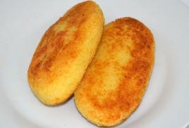Пирожки картофельные