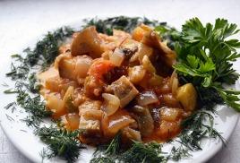 Рагу из овощей: полезно и со вкусом!