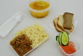 Обеды для детей и школьников