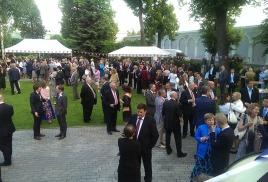 Торжественный прием в резиденции посла Великобритании по случаю дня рождения английской Королевы