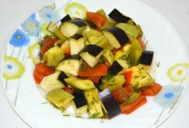 Ассорти овощное-2